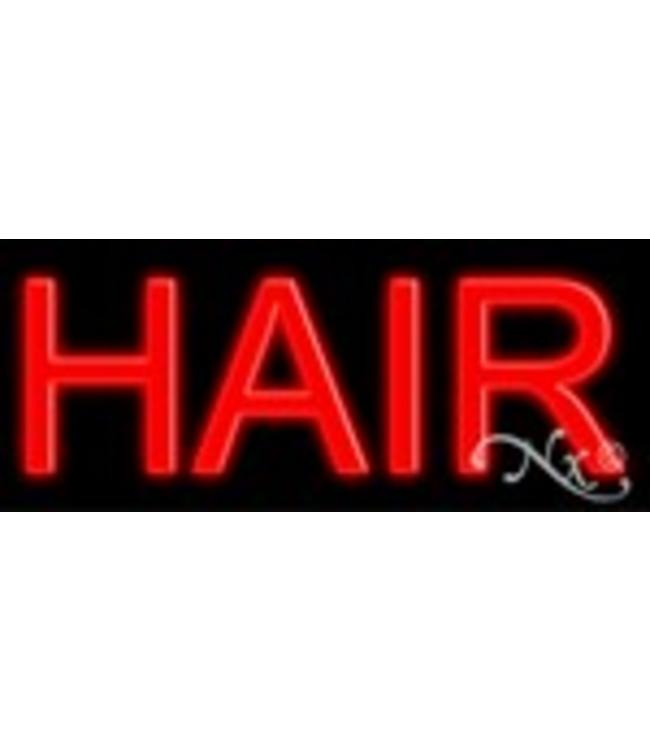 ART  SIGNS NEON SIGNS #NS12074 Hair