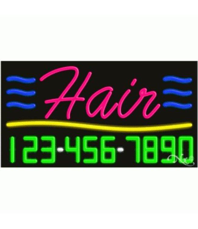 ART  SIGNS NEON SIGNS #NS15006 Hair & Nails & Phone