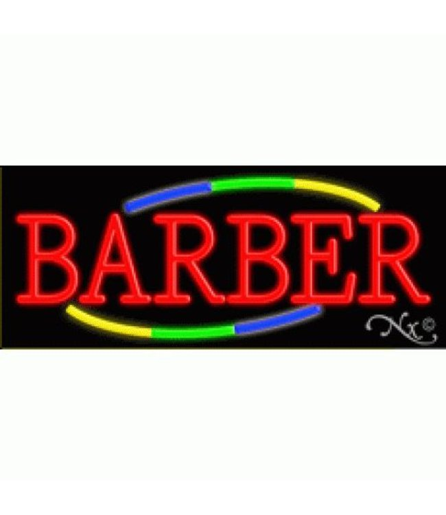 ART  SIGNS NEON SIGNS #ns10739 Barber