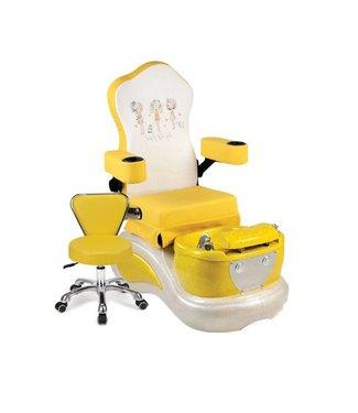 ASNS KIDS  SPA YELLOW KIDS #ASNS102 PEDICURE SPA