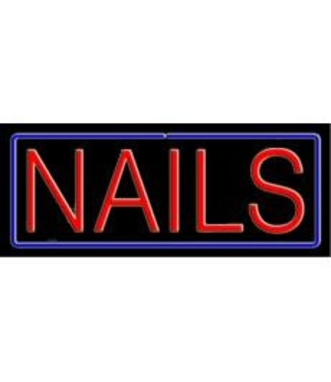 ART  SIGNS NEON SIGNS #NS10093 Nails