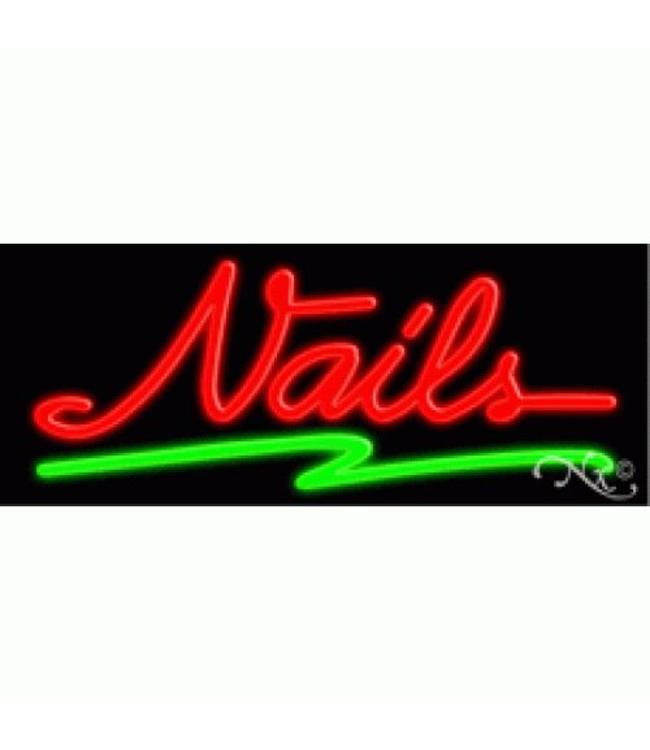 ART  SIGNS NEON SIGNS #NS10265 Nails