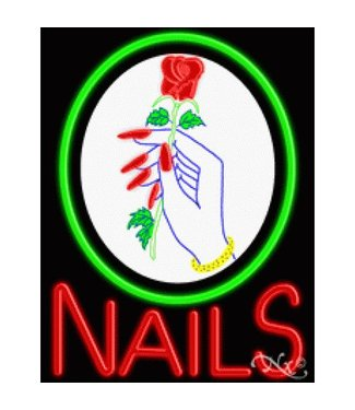 ART  SIGNS NEON SIGNS #NS10327 Nails