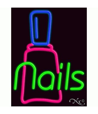 ART  SIGNS NEON SIGNS #NS10344 Nails