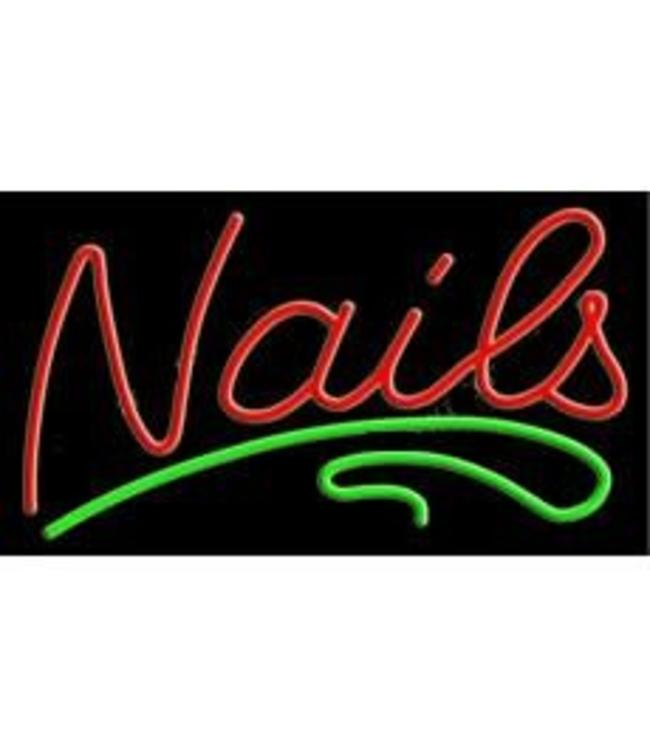ART  SIGNS NEON SIGNS #NS10345 Nails
