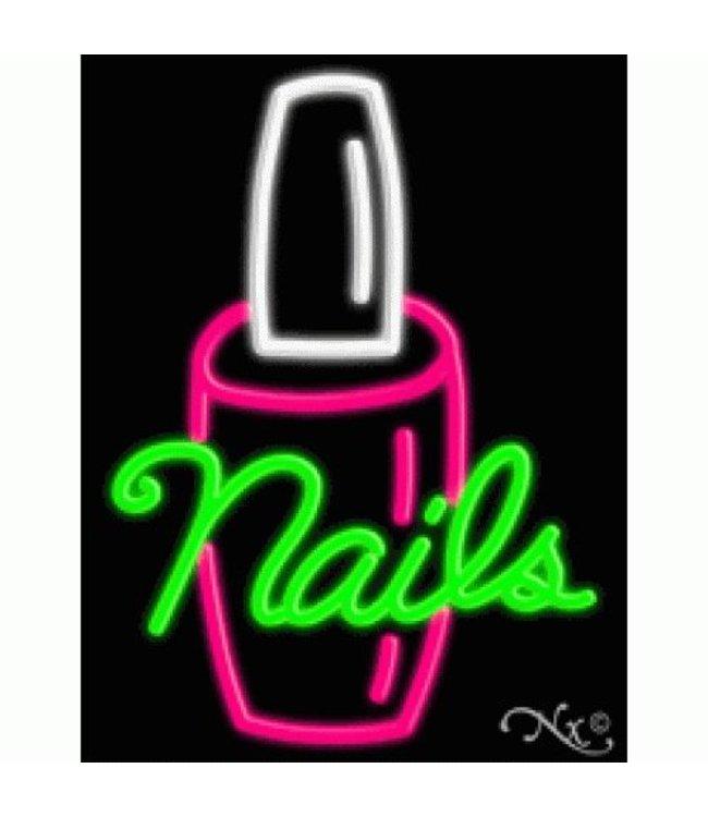 ART  SIGNS NEON SIGNS #NS10346 Nails