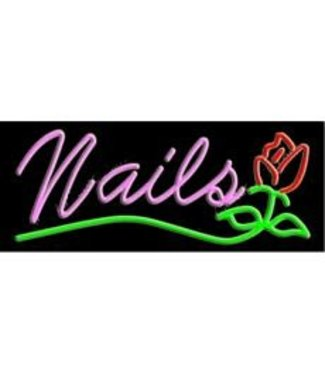ART  SIGNS NEON SIGNS #10363 Nails