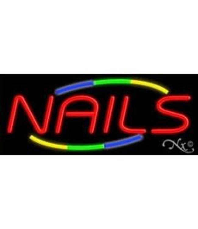 ART  SIGNS NEON SIGNS #NS10847 NAILS