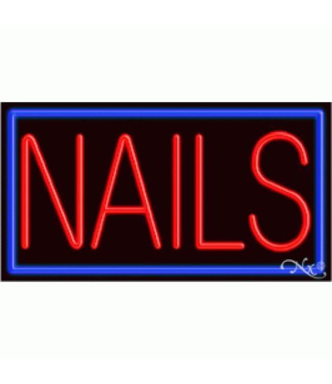 ART  SIGNS NEON SIGNS #NS11097 Nails