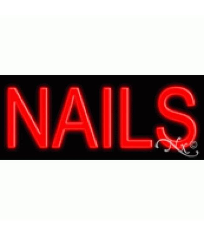 ART  SIGNS NEON SIGNS #NS12107 Nails