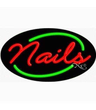 ART  SIGNS NEON SIGNS #NS14458 Nails