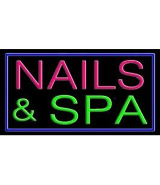 ART  SIGNS NEON SIGNS #NS10369 Nails & Spa