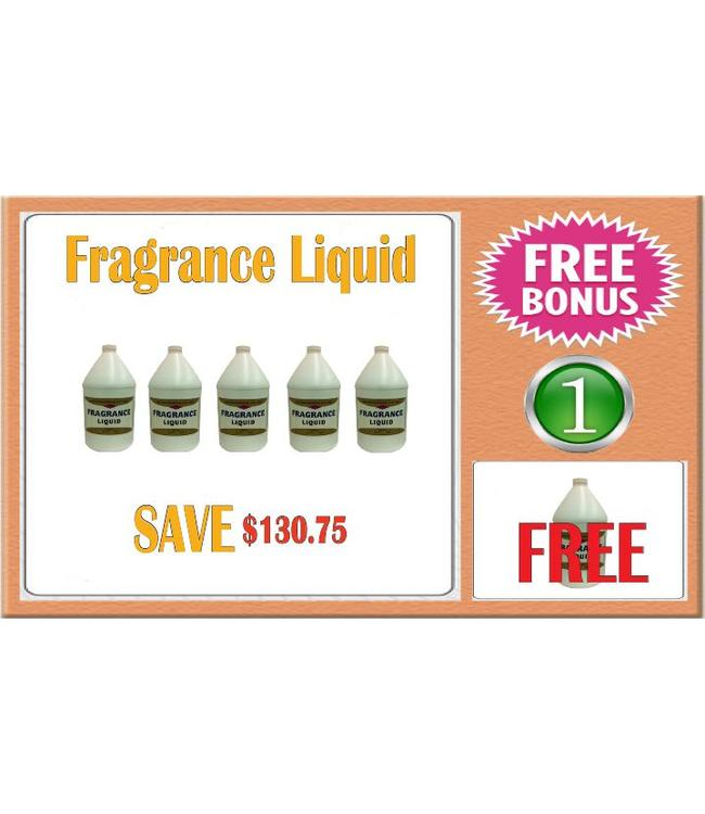 LIQUID & POWDER SYSTEM 999 Fragrance Liquid 6 gal