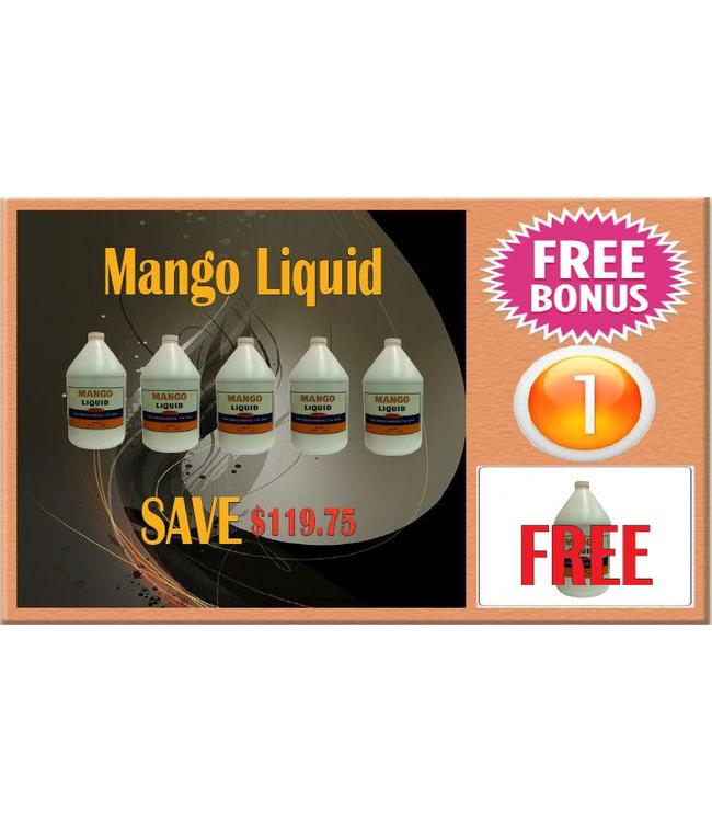 LIQUID & POWDER SYSTEM Superior Mango Liquid  6 gal