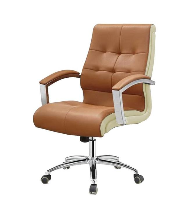 SNS  FURNITURE Two Tone Cappuccino Client Chair