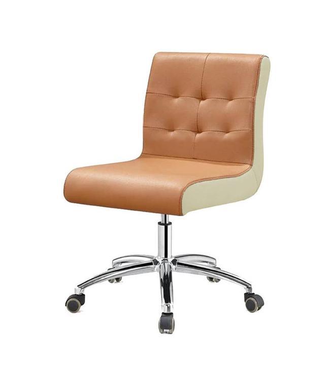 SNS  FURNITURE TWO TONE Cappuccino Technician Chair