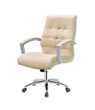 SNS  FURNITURE Two Tone Cream Client Chair