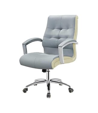 SNS  FURNITURE Two Tone Gray Client Chair