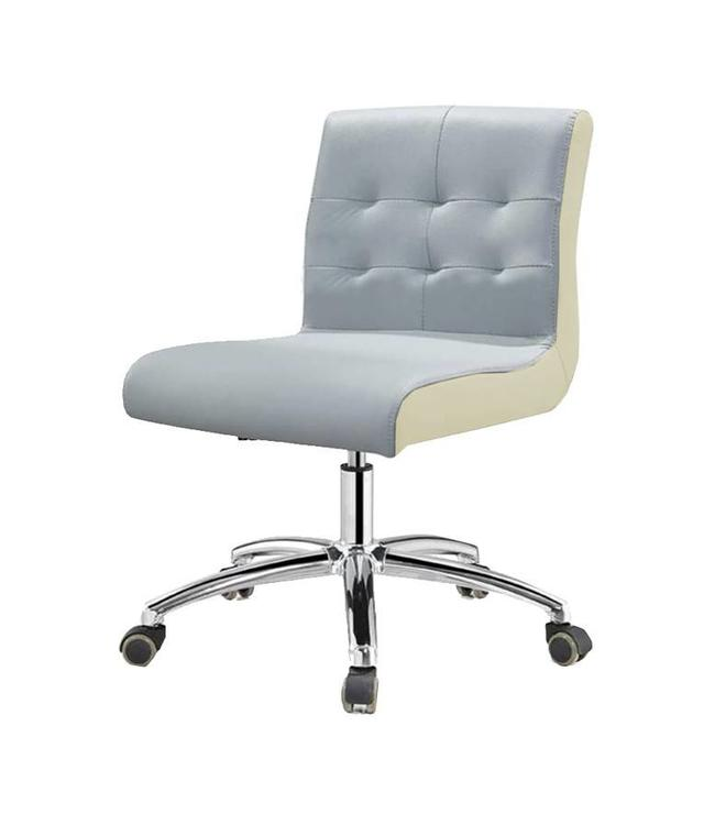 SNS  FURNITURE Two Tone Gray Technician Chair