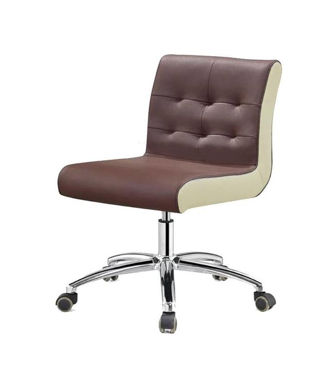SNS  FURNITURE Two Tone Chocolate Technician Chair