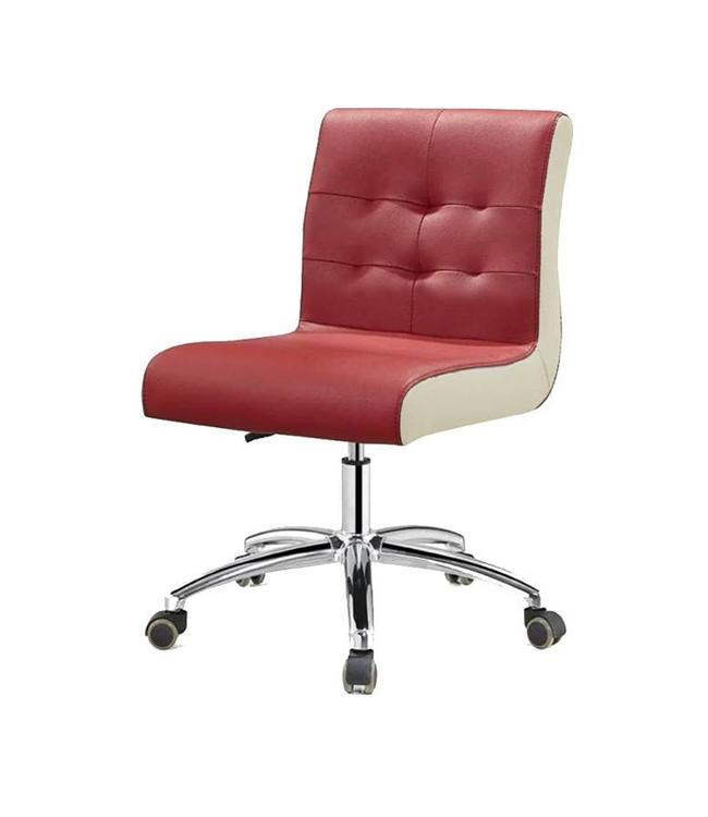 SNS  FURNITURE Two Tone Burgundy Technician Chair