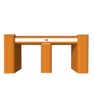 SNS  FURNITURE SNS Floral  #FT274 Double Nail Table