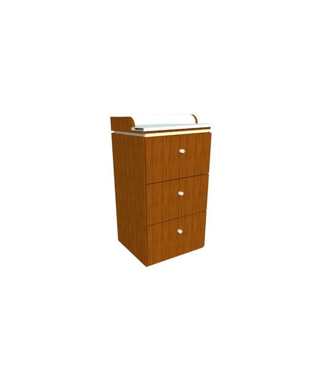 SNS  FURNITURE SNS Floral #FT055 Waxing Cabinet
