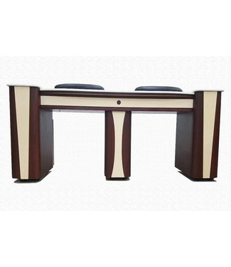SNS  FURNITURE SNS Rosa #RT280 Double Nail Table