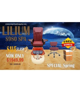 SNS  SPA CHAIR Lilium S980 Spa Chair