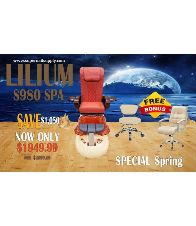 SNS  SPA CHAIR Lilium S980 Spa Chair