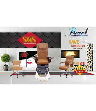 SNS  SPA CHAIR Pearl S450 Cappuccino Spa Chair