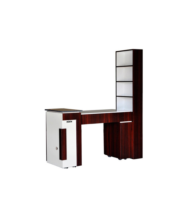 SNS  FURNITURE CP #CP773 Nail Table With shelf