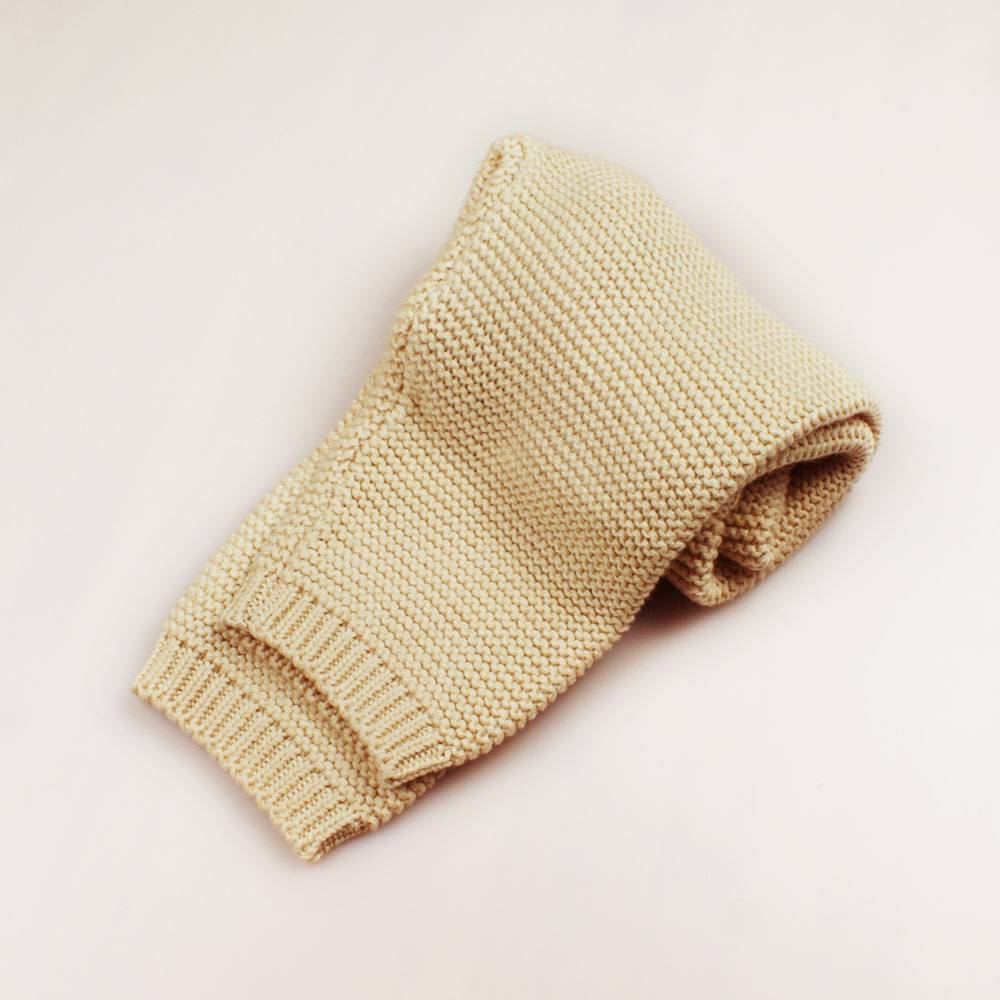 enlee Certified Organic Baby Toddler Knitted Pants