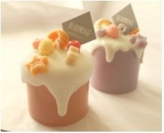 Blooming Studio 100% Soy Mini Cake Candle