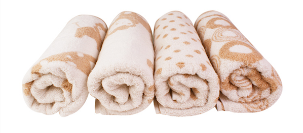 enlee Organic Baby Bath Towel