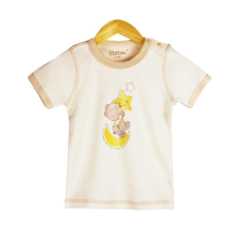 Eotton Certified Organic Unisex Baby Toddler Short Sleeve Tee