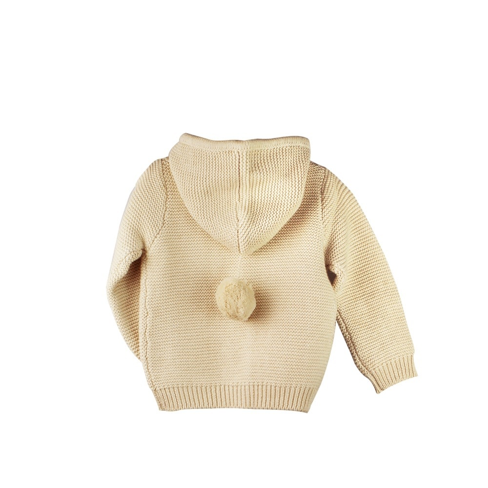 enlee Certified Organic Baby Toddler Knitted Sweater