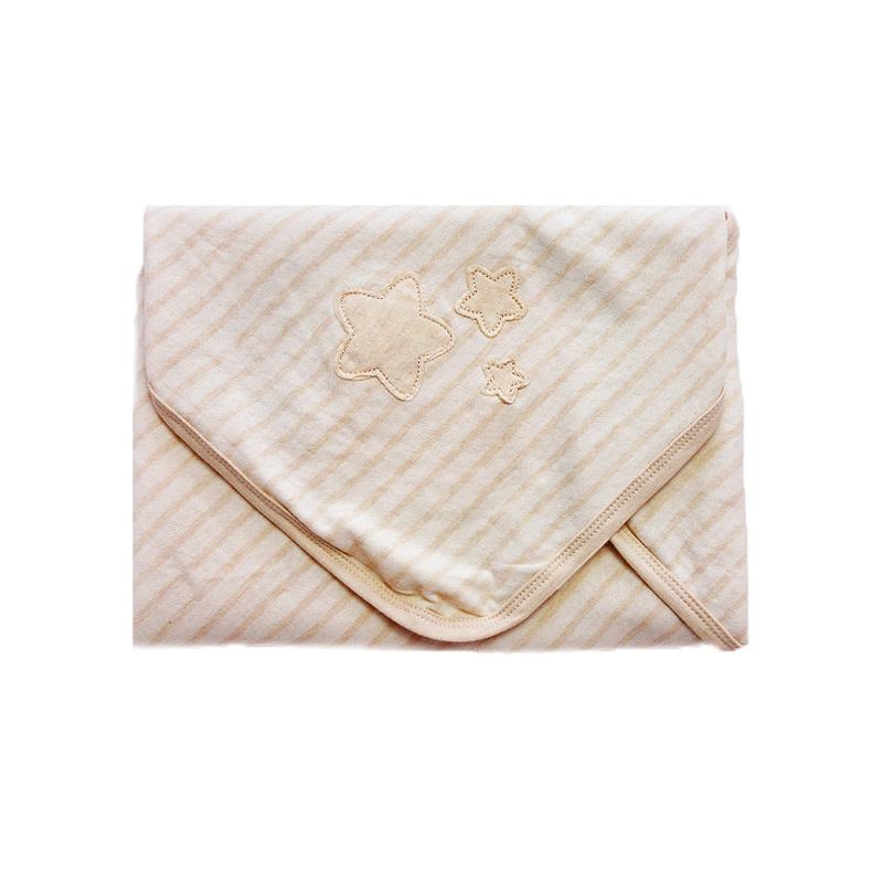enlee Certified Organic Unisex Baby Swaddling Recieving Blanket