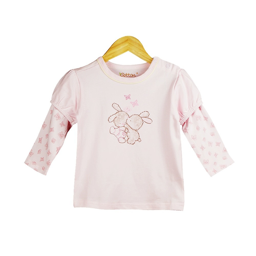 Eotton Certified Organic Baby Toddler Girl Tee Top