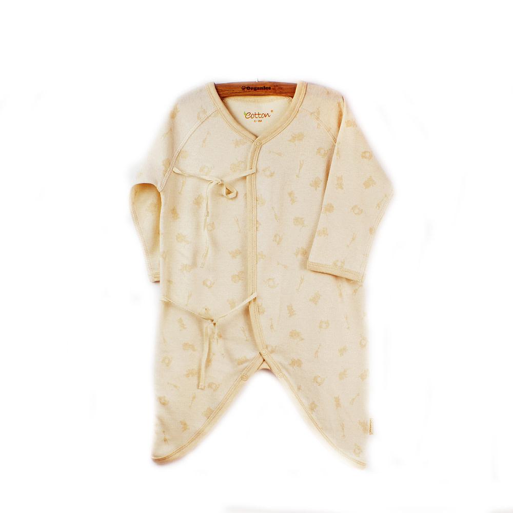 Eotton Certified Organic Unisex Baby Toddler Japanese Kimono