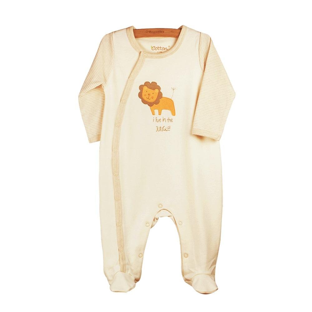 enlee Certified Organic Unisex Baby Toddler Sleep N' Play