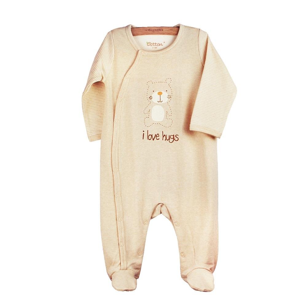 Eotton Certified Organic Unisex Baby Toddler Sleep N' Play