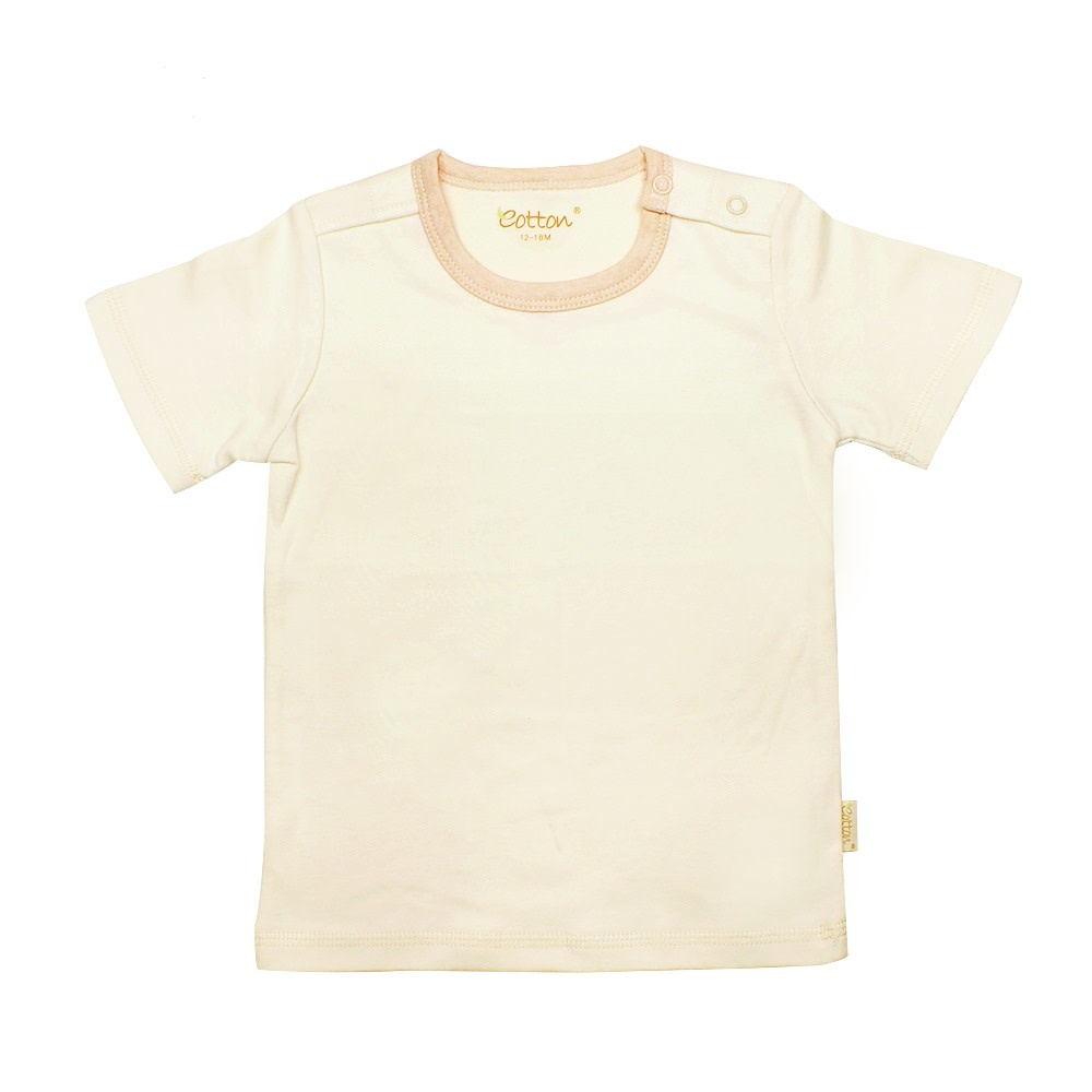 Eotton Certified Organic Unisex Baby Toddler Short Sleeve Tee