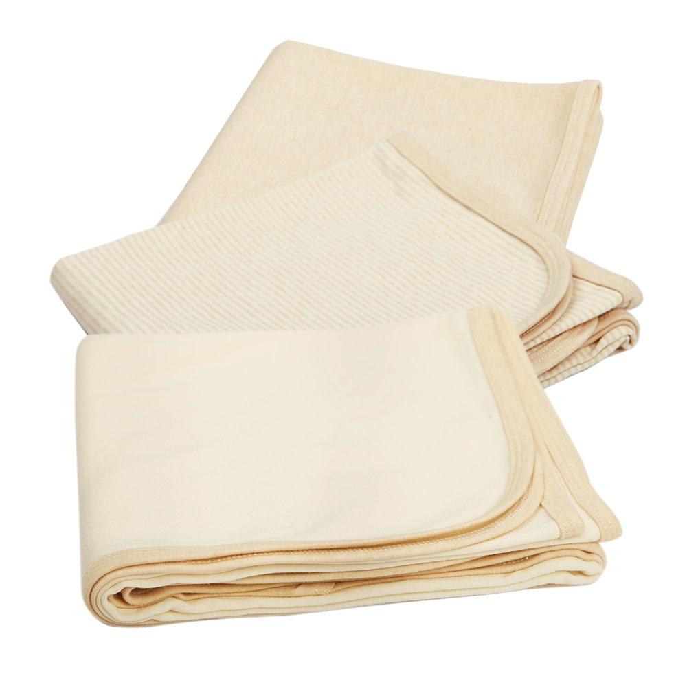 Eotton Certified Organic Unisex Baby Swaddling Recieving Blanket