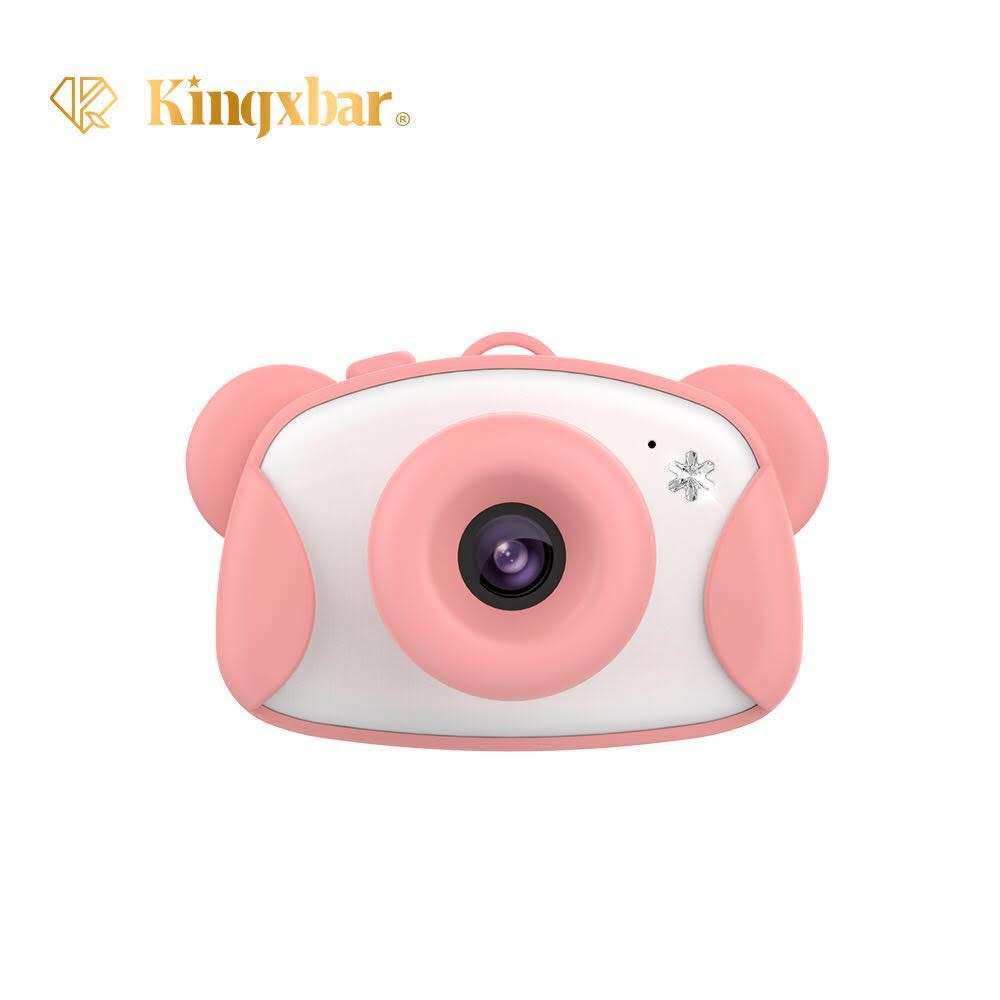 KINGXBAR KINGXBAR Kid's Digital Camera with 8GB SD Card, Pink