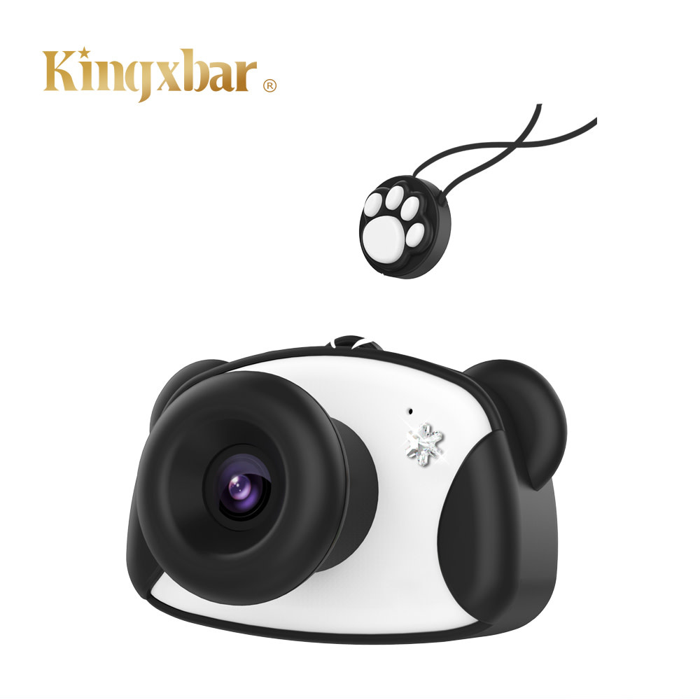KINGXBAR KINGXBAR Kid's Digital Camera with 8GB SD Card, Black