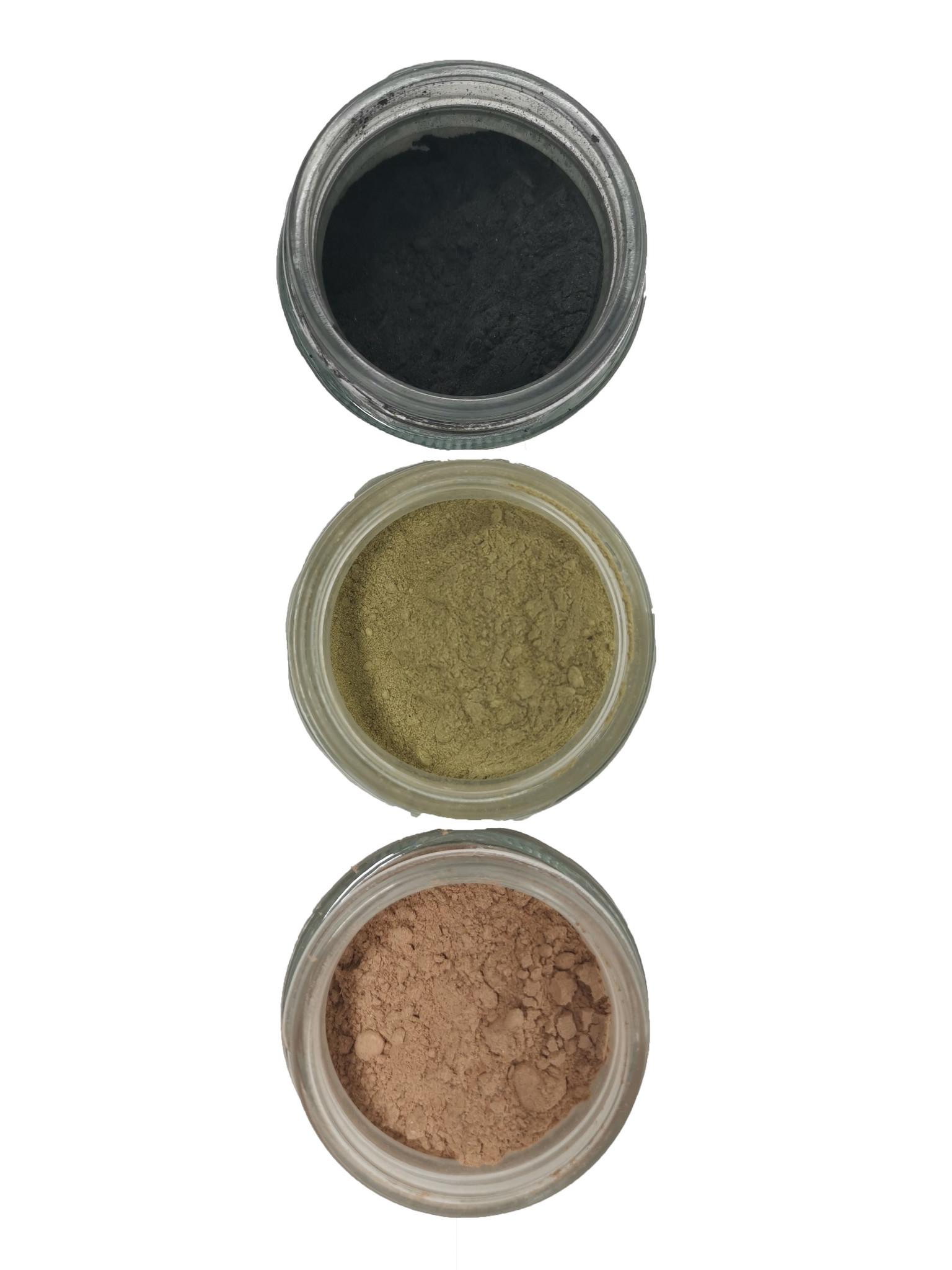 mommiganics Beauty 1-2-3 Step Clay Mask Set