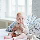 enlee Certified Organic Unisex Baby Drooling Bib