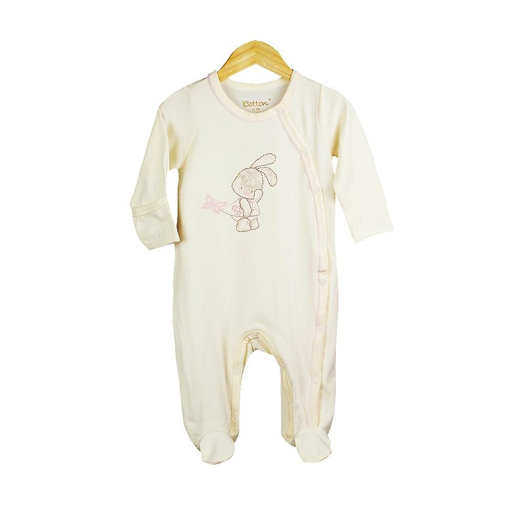Eotton Certified Organic Baby Toddler Girl Sleep N' Play