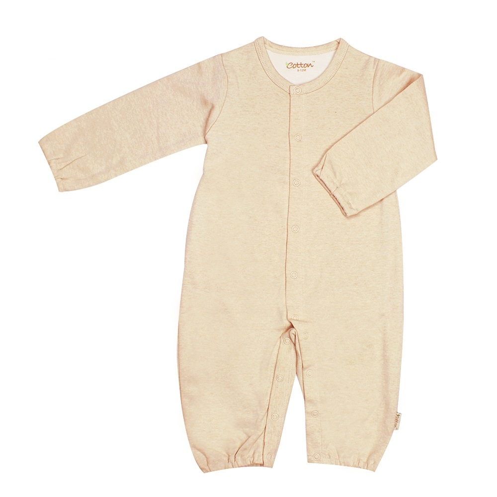 enlee Certified Organic Unisex Baby Toddler Romper Sleeping Gown